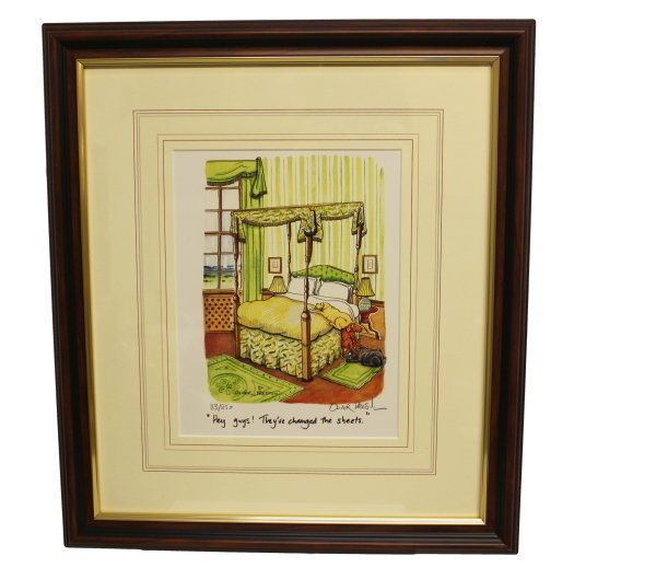 Sheets Signed Limited Edition Print from Oliver Preston
