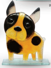 Nobile Fused Glass French Bulldog Fawn